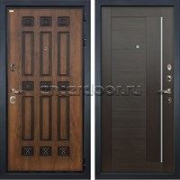 Входная дверь Лекс Гладиатор 3К Винорит Верджиния Венге (панель №39)
