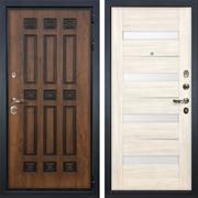 Входная дверь Лекс Гладиатор 3К Винорит Сицилио Белёный дуб (панель №46)