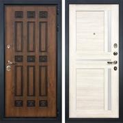 Входная дверь Лекс Гладиатор 3К Винорит Баджио Белёный дуб (панель №47)