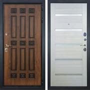Входная металлическая дверь Лекс Гладиатор 3К Винорит Клеопатра-2 Белёный дуб (панель №58)