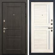 Входная стальная дверь Лекс Сенатор Винорит Баджио Белёный дуб (панель №47)