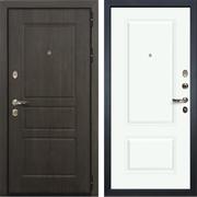 Входная стальная дверь Лекс Сенатор Винорит Вероника-1 Эмаль белая (панель №55)