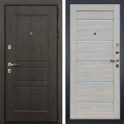 Входная стальная дверь Лекс Сенатор Винорит Клеопатра-2 Ясень кремовый (панель №66)