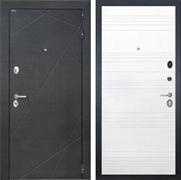 Входная металлическая дверь Интекрон Сенатор Лучи ФЛ-316 (Венге распил кофе / Ясень белый)