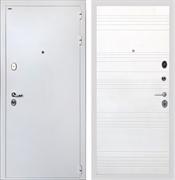 Входная стальная дверь Интекрон Колизей White ФЛ-316 (Белая шагрень / Ясень белый)