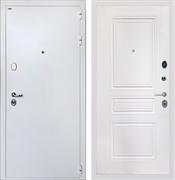 Входная стальная дверь Интекрон Колизей White ФЛ-243-М (Белая шагрень / Белый матовый)