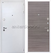 Входная стальная дверь Интекрон Колизей White (Белая шагрень / Дуб Тоскано)