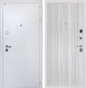 Входная стальная дверь Интекрон Колизей White L-5 (Белая шагрень / Сандал белый)