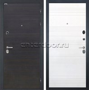 Входная металлическая дверь Интекрон Сицилия ФЛ-316 (ЭкоВенге / Ясень белый)