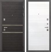 Входная металлическая дверь Интекрон Неаполь ФЛ-316 (Лен Сильвер / Ясень белый)