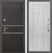 Входная металлическая дверь Интекрон Неаполь ФЛ-39 (Лен Сильвер / Сандал белый)