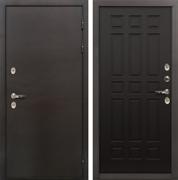 Входная дверь с терморазрывом Лекс Термо Сибирь 3К Венге (панель №29)