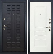Входная металлическая дверь Лекс Гладиатор 3К Белая шагрень (панель №68)