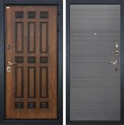 Входная металлическая дверь Лекс Гладиатор 3К Винорит Графит софт (панель №70)