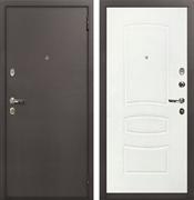 Входная стальная дверь Лекс 1А (№68 Белая шагрень)