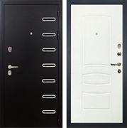 Входная металлическая дверь Лекс Витязь Белая шагрень (панель №68)