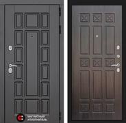 Входная металлическая дверь Лабиринт Нью-Йорк 16 (Венге / Алмон 28)