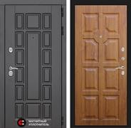 Входная металлическая дверь Лабиринт Нью-Йорк 17 (Венге / Золотой дуб)