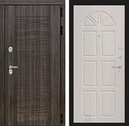 Входная металлическая дверь Лабиринт Сканди 15 (Дарк Грей / Алмон 25)