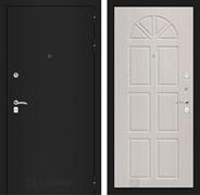 Входная металлическая дверь Лабиринт Классик 15 (Шагрень черная / Алмон 25)