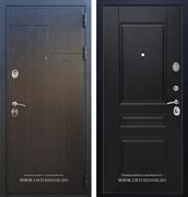 Входная металлическая дверь Армада Премиум 246 ФЛ-243 (Венге / Венге)