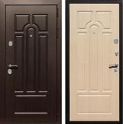 Входная металлическая дверь Армада Эврика 3К (Венге / Белёный дуб)