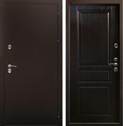 Уличная входная дверь Цитадель Термо Сибирь 3К (Антик медь / Венге)