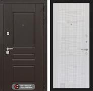 Входная металлическая дверь Лабиринт Мегаполис 6 (Венге / Сандал белый)