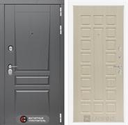 Входная металлическая дверь Лабиринт Платинум 4 (Альберо Грей / Дуб белёный)