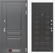 Входная металлическая дверь Лабиринт Платинум 4 (Альберо Грей / Венге)
