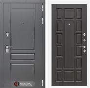 Входная металлическая дверь Лабиринт Платинум 12 (Альберо Грей / Венге)