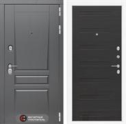 Входная металлическая дверь Лабиринт Платинум 14 (Альберо Грей / ЭкоВенге)