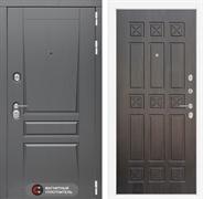 Входная металлическая дверь Лабиринт Платинум 16 (Альберо Грей / Алмон 28)