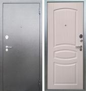 Входная металлическая дверь Аргус Люкс ДА-61 (Антик Серебро / Ясень белый)