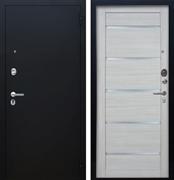 Входная металлическая дверь Аргус Люкс ПРО Александра (Чёрный шелк / Буксус)