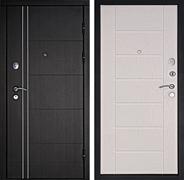 Входная металлическая дверь Дверной Континент Тепло-Люкс 3К (Венге / Дуб беленый)