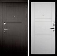 Входная металлическая дверь Дверной Континент Тепло-Макс 3К (Венге / Дуб беленый)