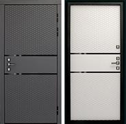 Входная металлическая дверь Дверной Континент Диамант 3К (Графит софт / Софт Айс)