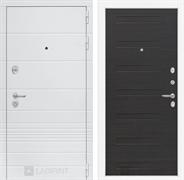 Входная металлическая дверь Лабиринт Трендо 14 (Белый камень / ЭкоВенге)