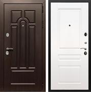 Входная металлическая дверь Армада Эврика 3К ФЛ-243 (Венге / Белый силк сноу)