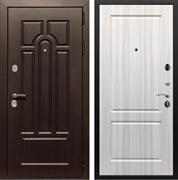 Входная металлическая дверь Армада Эврика 3К ФЛ-117 (Венге / Сандал белый)
