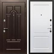 Входная металлическая дверь Армада Эврика 3К ФЛ-117 (Венге / Белый софт)