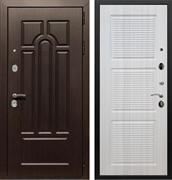 Входная металлическая дверь Армада Эврика 3К ФЛ-1 (Венге / Сандал белый)