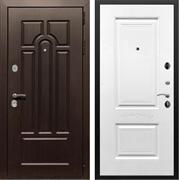 Входная металлическая дверь Армада Эврика 3К Смальта 04 (Венге / Белый силк сноу)