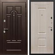 Входная металлическая дверь Армада Эврика 3К ФЛ-2 (Венге / Дуб беленый)