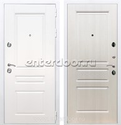 Входная металлическая дверь Армада Премиум Н ФЛ-243 (Белый / Лиственница беж)
