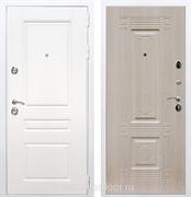 Входная металлическая дверь Армада Премиум Н ФЛ-2 (Белый / Дуб беленый)