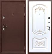 Входная металлическая дверь Армада 5А ФЛ-317 (Медный антик / Белый патина Золото)