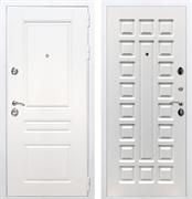 Входная металлическая дверь Армада Премиум Н ФЛ-183 (Белый / Белый ясень)