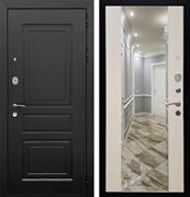 Входная металлическая дверь Армада Лондон СБ-16 с Зеркалом (Венге / Лиственница беж)